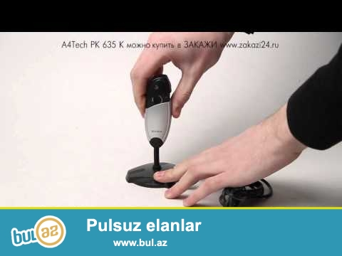 Web Camera A4tech pk-635 (yeni) <br /> <br /> Sheher ichi chatdirilma + 2 azn<br /> <br /> Rayonlarada gonderilir...