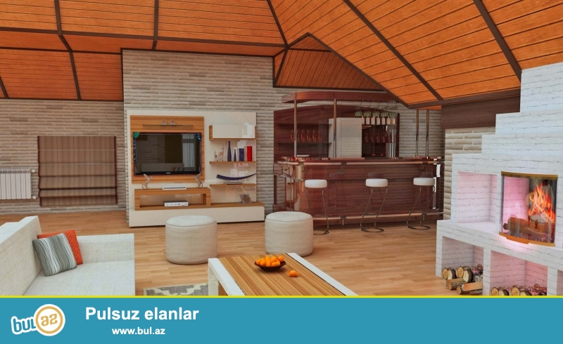İnteryer, Eksteryer və Landşaft dizaynları və Təmiri (işçilik və material daxil 250 azn)