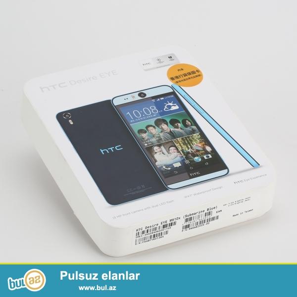 -HTC Desire Eye- Teze Xaricden gelib, hec qutusu acilmayib...
