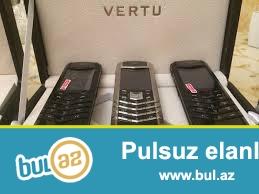 Yeni Vertu signature mobil telefonu<br /> Made in U...