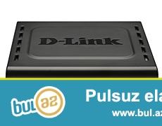 D-link modem satiram islenmiw islek veziyetdedir.