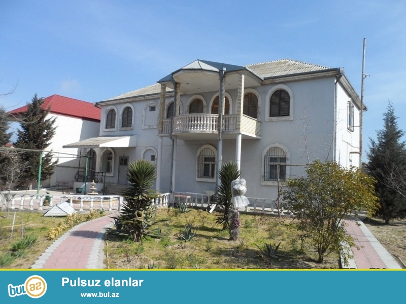 Срочно! Продается 2-х этажный особняк в посёлке Шувалан - возле Зияретгах...