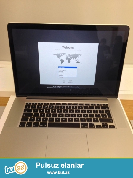 "Apple® MacBook Pro 15,4 ""ноутбук с Retina дисплеем<br />