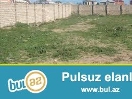 Qaradag rayonunun Elet qesebesinde 12 sot torpaq sahesi satilir...