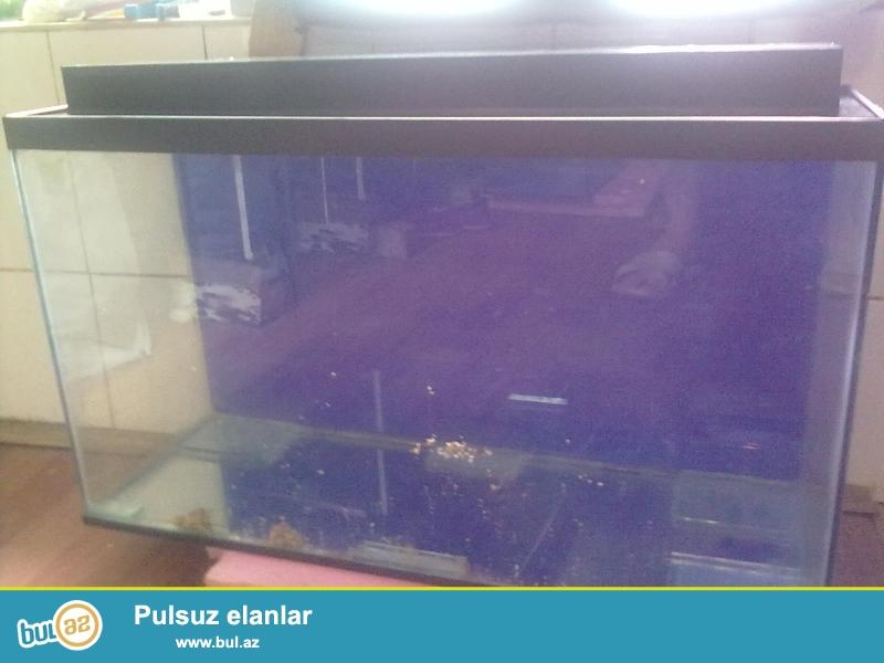280litir akvarium teze ölçüleri uzunluqu 117sm hündürlüyü 60sm eni 40sm enini isdediyiniz ölçüde yığmaq mümkündür qiymet deyişmir sade veziyyetde qiymeti 100azn...