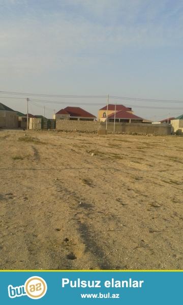 Suraxani rayonu Hovsan qesebesinde merkezi yoldan 100 met arali 15 sot kupcali torpaq satilir minimum 2 sot almaq olar