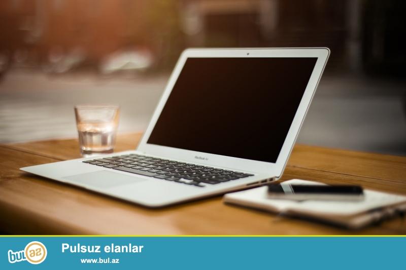 Laptop super vəziyyətdədir.İstifadə olunanda kabroda istifadə olunub,yəni üzərində heç bir cızıq falan yoxdu...