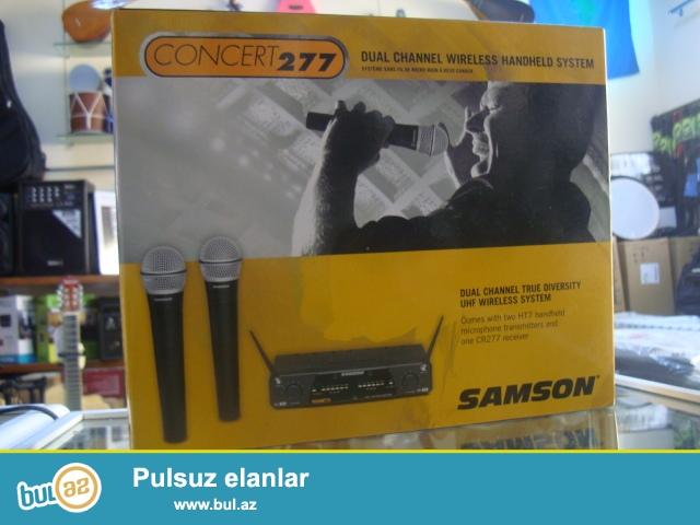 Amerikanin meshur SAMSON sirketine mexsus CONSERT 277 modeli...