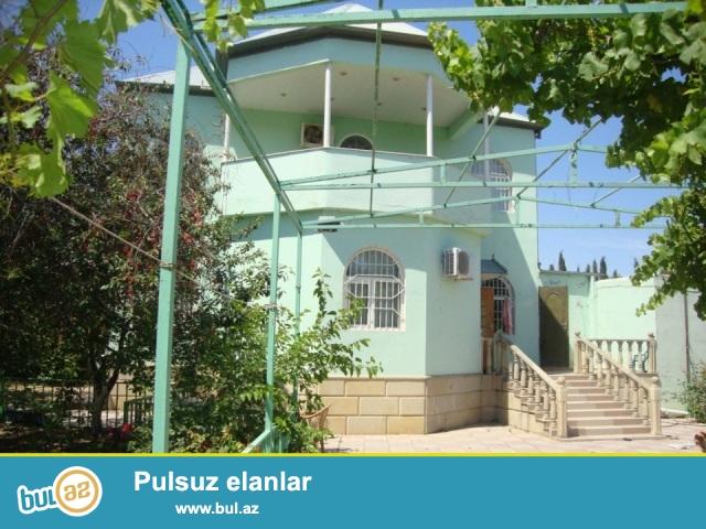 ДАЧА В ПОСЕЛКЕ  НОВХАНЫ <br /> В экологически чистом, спокойном и тихом районе,  лишенном шума и суеты  в поселке Новханы, продается двух этажный дом с летней верандой...