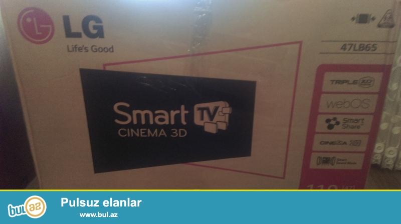 LG 47 duym 119 sant 3D Smart  500 gerc, wi-fi, jostik, 3D eynek...