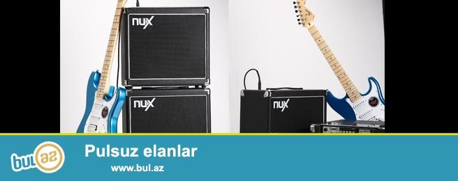 NuX sirketine mexsus elektro gitara ucun ACOUSTIC 30 modeli amfi konbik...
