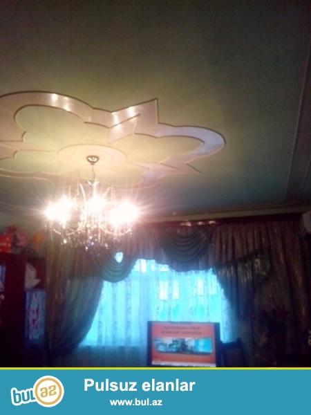 Срочно продается 4 комнатная квартира в Карадахском районе в Поселке Локбатан...