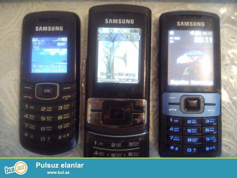 Samsung C3010, C3050 vincester, E1080, sade telfonlardi ehtibarlidi...