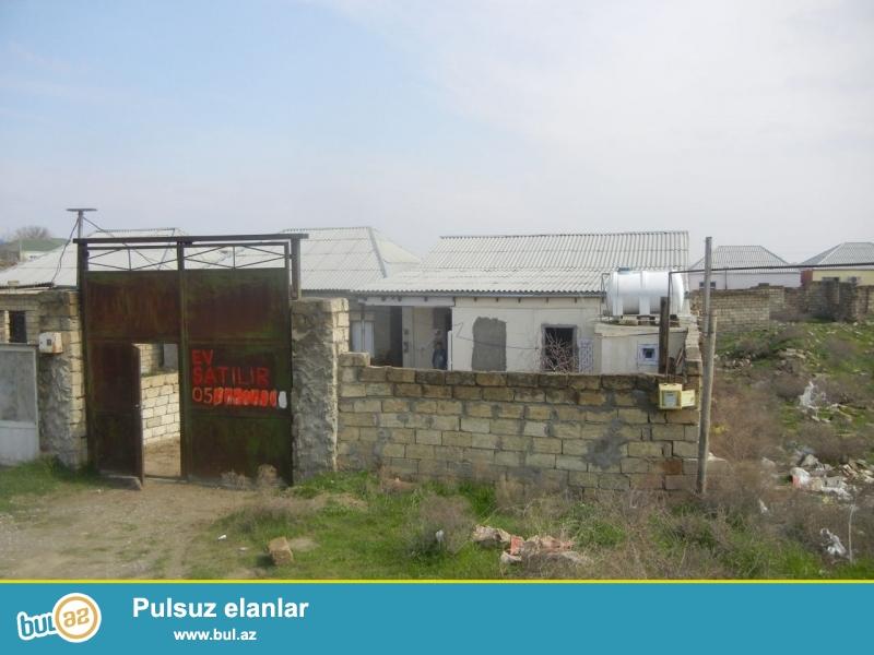 Bineqedide 170 nomreli marwurutun yolunda 1 sotda 2 otaq h/t, metbex tam temirli ev satilir...