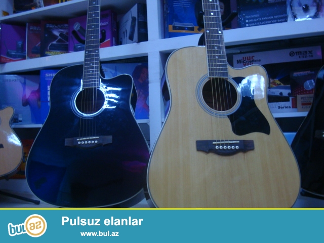<br />\r\nMonika firmasina mexsus Akustik gitaralar yalniz H...