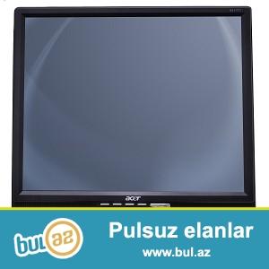 Acer 17 monitor. Teze kimidir.<br /> Tel 051 5607319