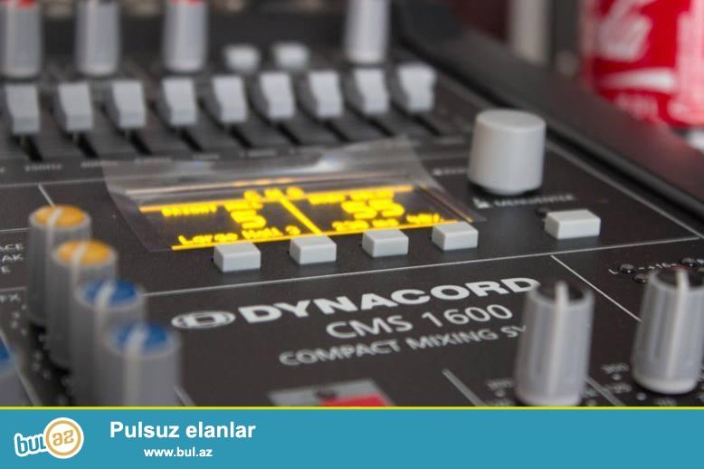 Dünyada ən cox satılan  səs sistemləri,  Mikşer və səs gücləndiriciləri ilə tanınan məhşur Alman şirkəti olan Dynacord, YENİ  PowerMate 502 Power Mikser  modelini...