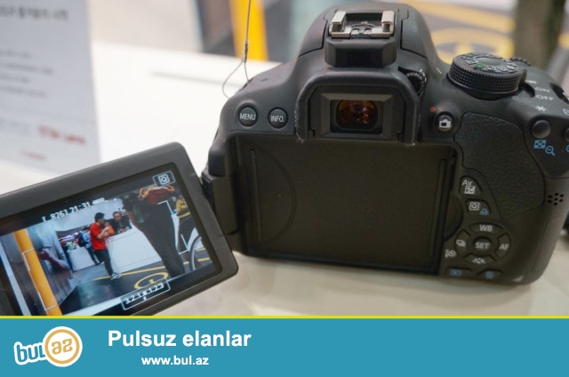 TECILI SATILIR: Canon Eos 700d kit 18-55mm.<br />