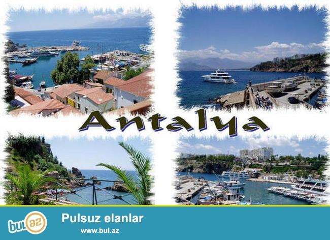 Antaliyaya erkən rezervasiya qiymətləri 16.06-23...