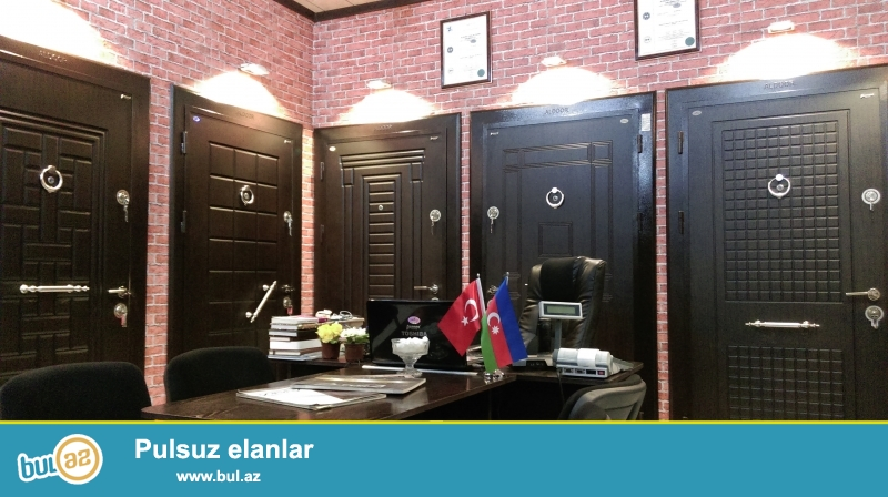 En xirda detalina qeder original fabrik Turkiye qapilari...