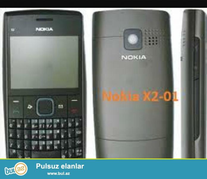Nokia x2 03 satiram. Yaxsi veziyyetdedir. Adaptoru var.