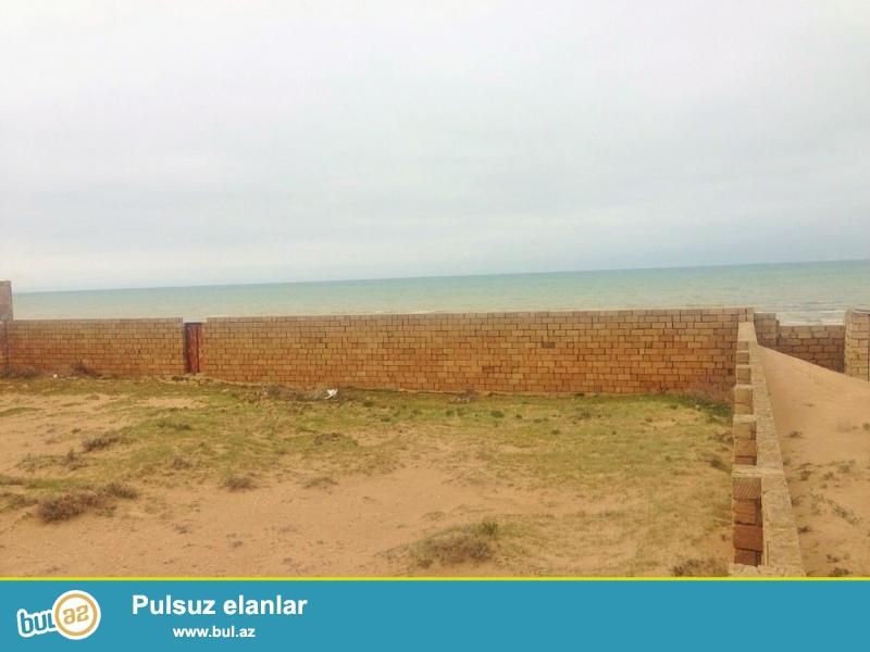 Очень срочно! В элитном участке Пиршаги ,рядом с морем продается  земельный участок площадью  25 сот, полностью обедён каменным забором...