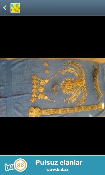 Antikvar Gümüş Kemer Komplektasiyasi 200 ilden artıq bir tarixe malikdir...