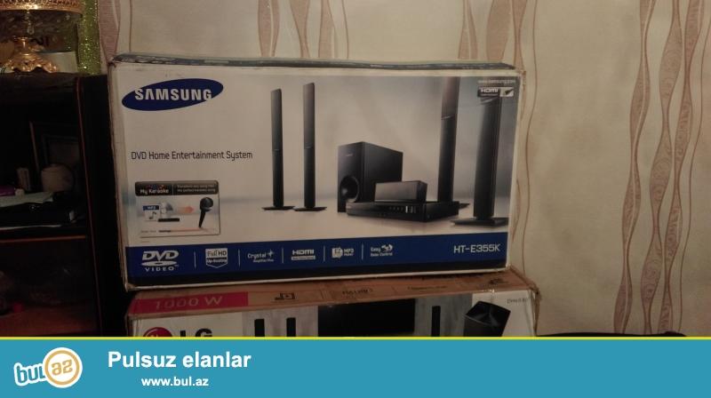 Samsung 5,1 ev kinoteatri 290 azn teze gutuda<br /> Lg...