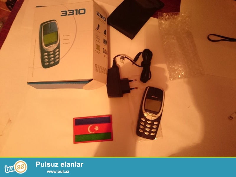 ESENLİKLƏR. <br /> sizlərə NOKIA 3310 modeini təklif edirik...