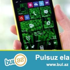 Lumia 520 satılır və ya barter edilir.<br /> <br /> Xüsusiyyətləri: <br /> - 512MB RAM, 8GB yaddaş <br /> - Windows Phone 8...