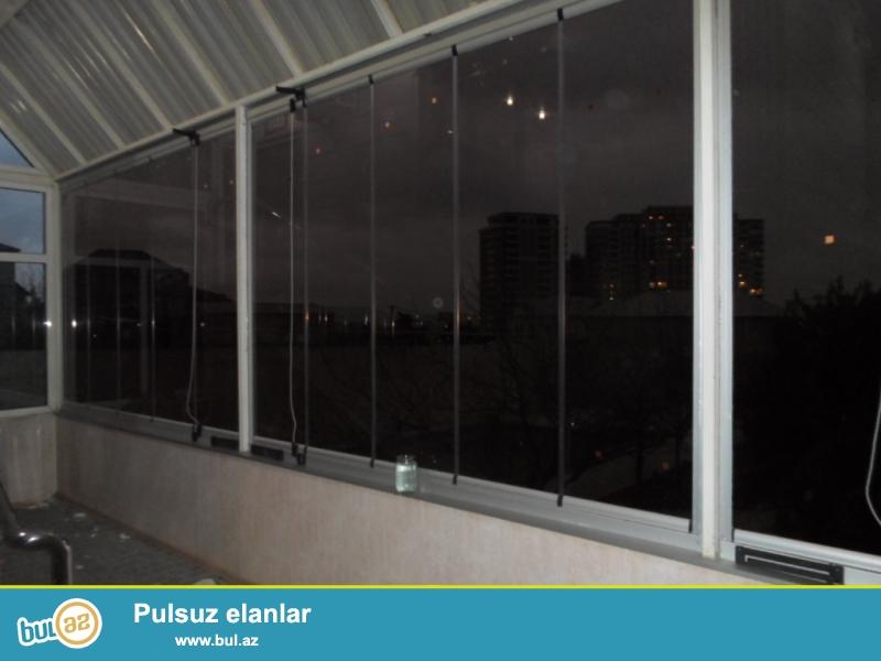 Cam balkon sifarişi 1 kv.m-120man.10 mm temper şüşə və Altim Group firmasının profil və aksesuarlarından istfadə olunur...