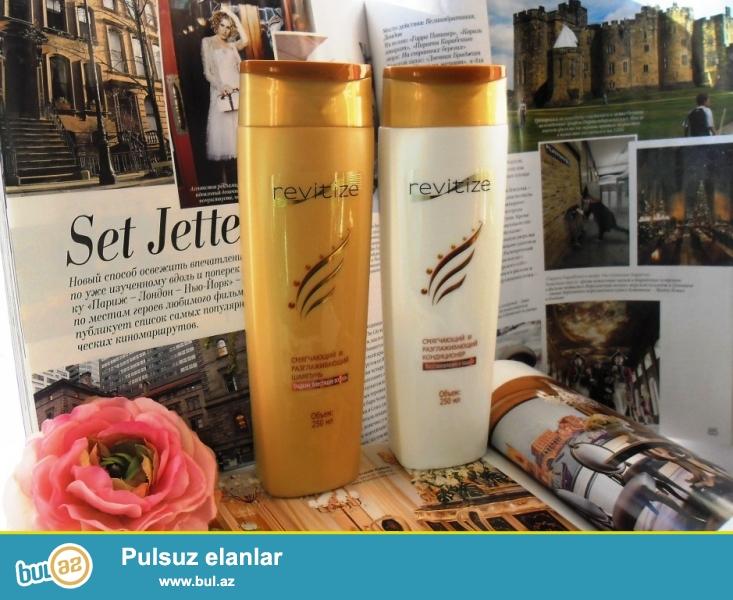 SAMPUN <br /> Saçlar üçün yumşaldıcı və hamarlaşdıran Revitize şampunu(250ml)...