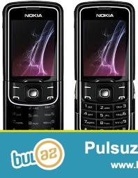 Yeni Nokia 8600 ( Luna ) mobil telefonu<br /> Made in Germany<br /> Orginal bağlamada dəri kabro hədiyyə