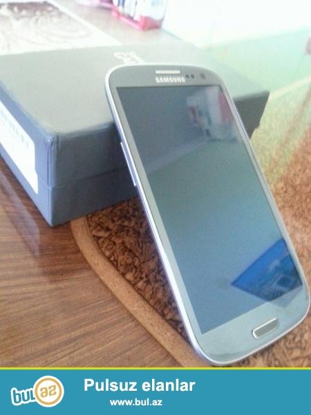 Samsung Galaxy S3 GT9300i 16GB satılır.Cızıq əzik düşmə yoxdu...