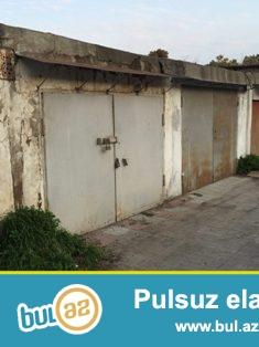 Qirmizi Şərq Hərbi Şəhərcikdə 21kv.m. qaraj satilir...
