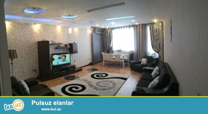 Сдается 4-х комнатная квартира в престижной новостройке,в центре города,по улице Гуткашенли, памятника Нариманова...