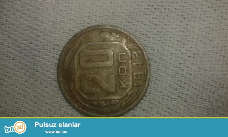 Salam.1948 ci ilin 20 qepiyi.1961 ci ilin 10 ve 25 rublu satilir...