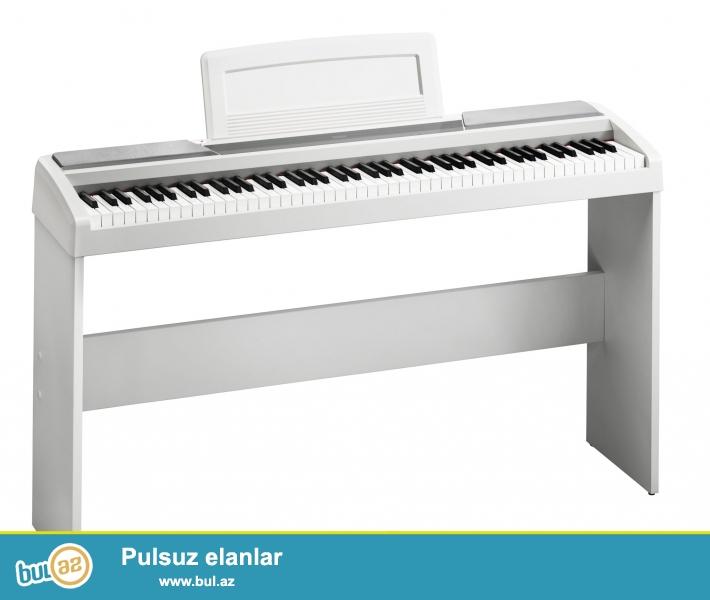 Korg sirketine mexsus elktro piano. <br />\r\nSP-170s Wh modeli yalniz H...