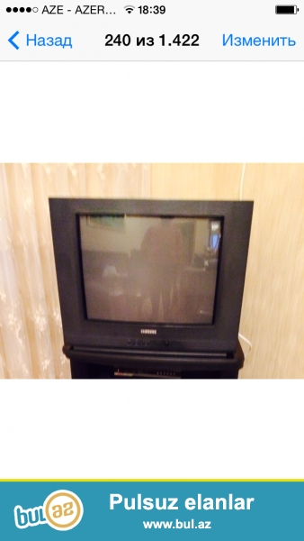 Samsung televizoru satıram. Az işlənib. Qiyməti razılaşma yolu ilə