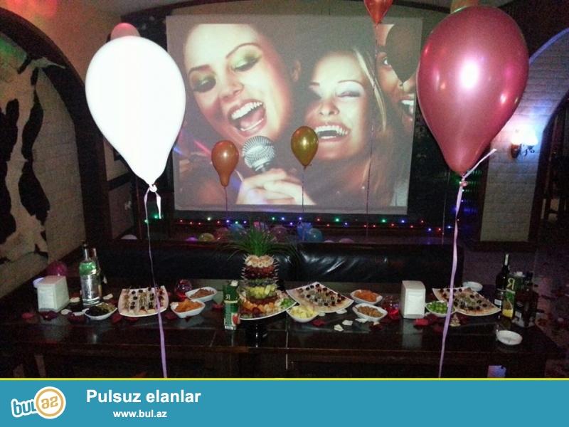 Hazir karaoke klub bar her bir avadanlig ve mebeli ile icareye verilir ciddi shexler elaqe saxlayib gelib baxa bileller