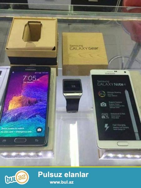 PROMO TƏKLİF :: 2 GET 1 PULSUZ ALIN<br /> <br /> Samsung Galaxy Note 4 Galaxy Gear Kit Android<br /> <br /> (Əlaqə məlumatı)<br /> <br /> https://www...
