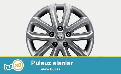 Hyundai Elantra 2015 model, 5 eded yeni 16-liq dikleri satilir.
