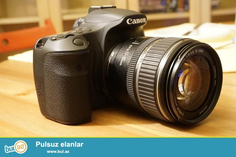 Canon EOS 60D DSLR Kit 18-135mm lens IS<br /> <br /> ((Əlaqə məlumatı)<br /> <br /> https://www...