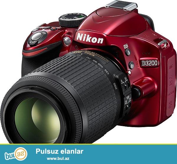 Nikon D3200 Teze Karobkada Esl Qiymeti Kontaktda 639 azndir men 340 $ verirem tecili pul lazimdi cox gozel ve yeni meslehetlidir 1 ilde qarantisi var kontaktda.