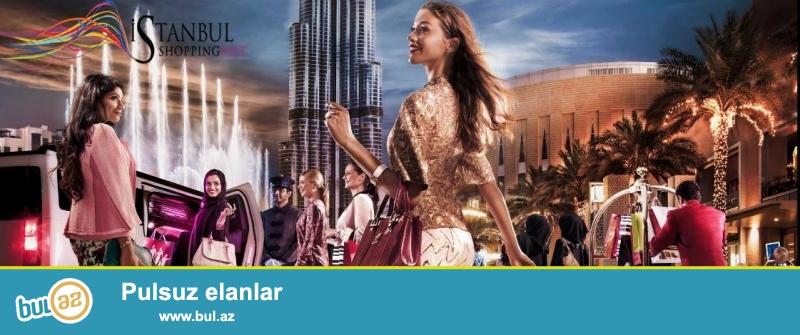 İstanbulda Shopping Festivalı turu !<br /> 3 gecə 4 gün Cəmi 475 AZN !<br /> Qiymətə daxildir:<br /> - Aviabilet<br /> - Otel<br /> - Sığorta<br /> - Transfer<br /> Yerlər məhduddur...
