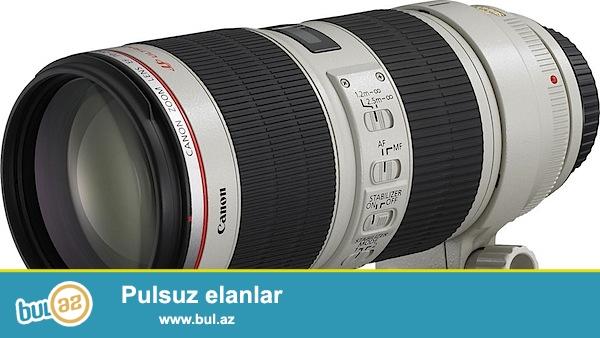 В наличии<br /> <br /> Canon EF 70-200mm f2...