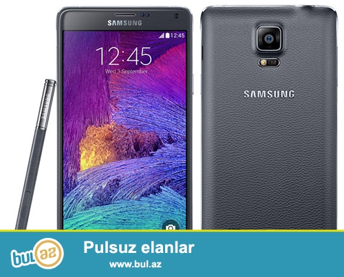 Samsung Galaxy Note 4 32 Gb Black<br />