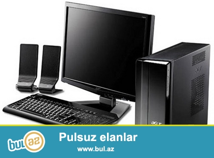 4 de pc komputer. Asus materinka,Ddr3 ,2ram,1video karta 17 monitor ve s...
