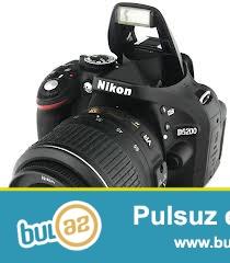 tecili profesional fotooparat satiram Nikon D5200 markali ve ustunde verirem oz original vspiskasi Nikon Sb700 fotooparatin her bir seyi var eleva ustunde verirem cantasin temizliyeci sotkasin ve 16gb kartin vpsikaninda her bir seyi var ustunde cantasin verirem her ikisi 1 ay islenib ev seraitinde ela veziyettedir hec bir problemi cizigi noqtesi yoxdu satmagima sebeb daha cox guclusun almiwam bunlar hammisi cemi 780azn asagi yeride var razilasa bilerik bunlar maqazinde hammisi 1380azndir oyrene bilersiz