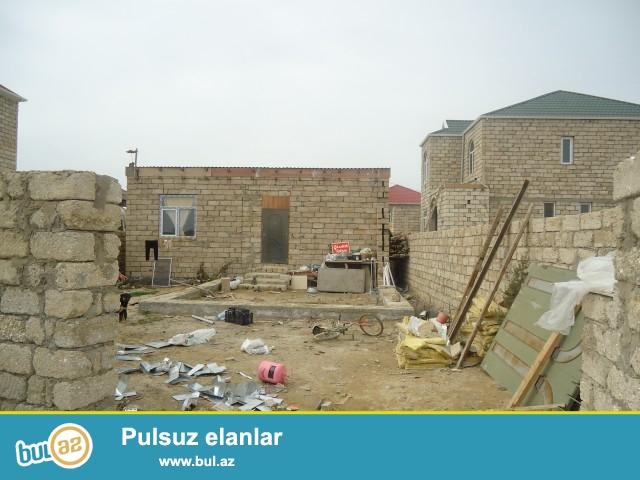 SULTAN Sabunçu rayonu Zabrat 2 qəsəbəsi, Zabrat kruqunun yaxınlığında, işıq stansiyasından 300metr məsafədə 2 sot torpaq sahəsində 2 otaqlı ev satılır...